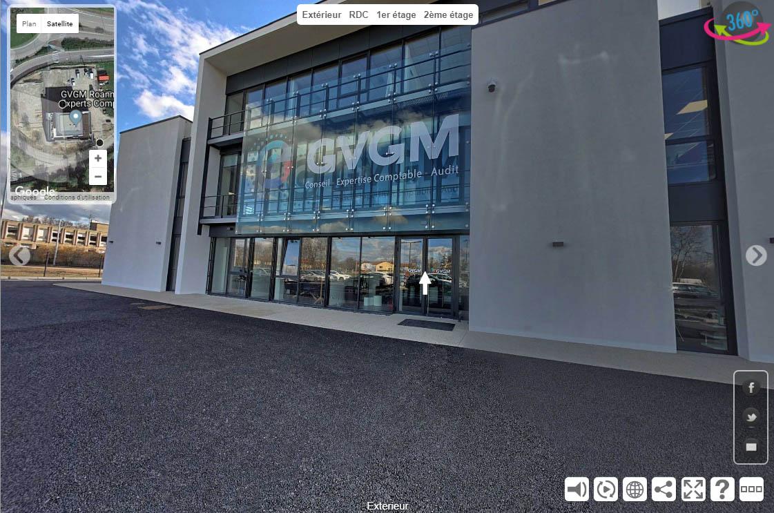 Visite virtuelle du cabinet comptable GVGM