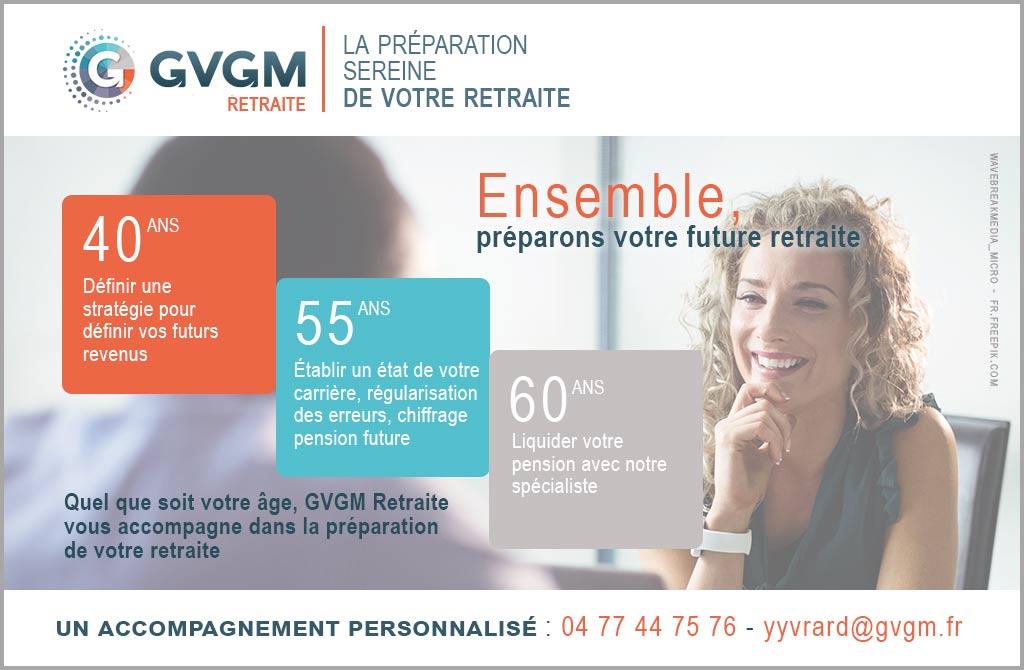 GVGM Retraite vous accompagne dans la préparation de votre future retraite